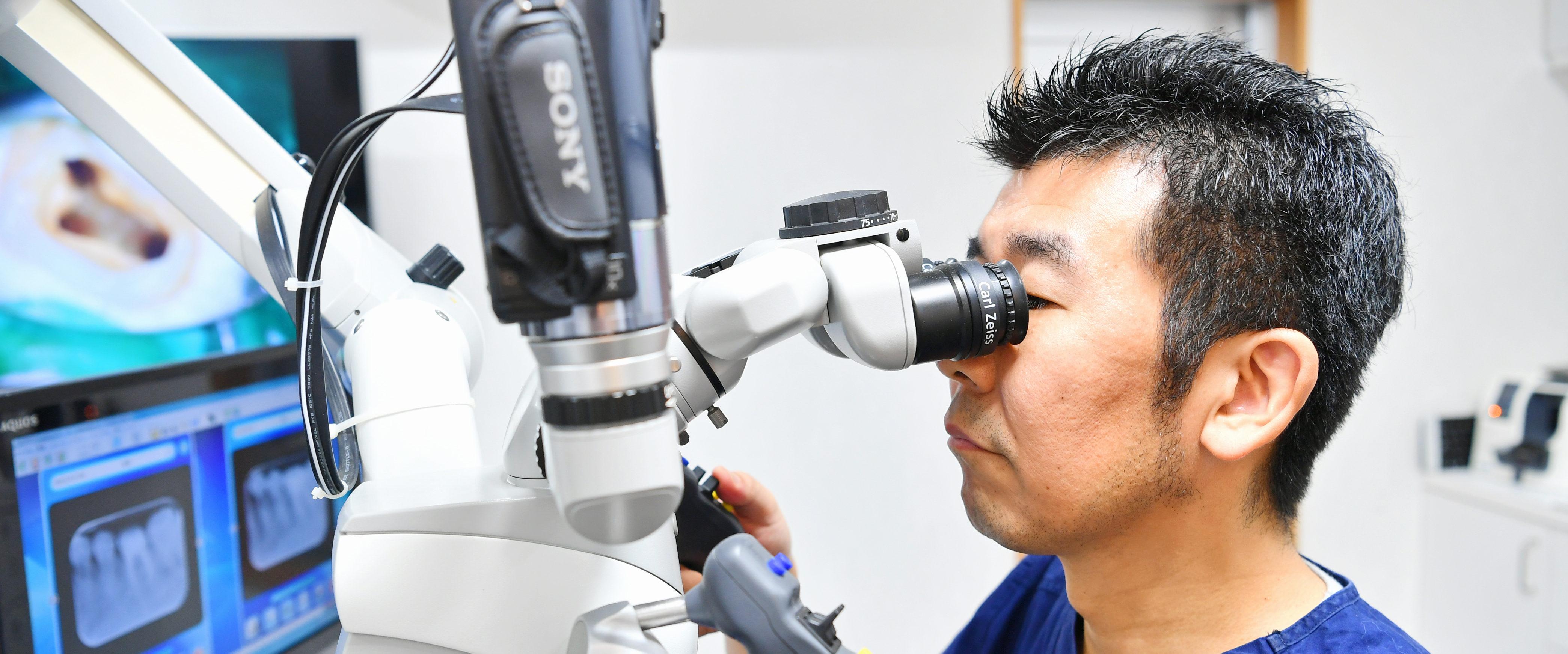 上海で唯一の歯内療法専門医